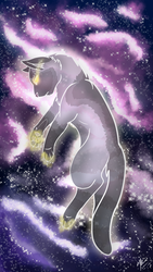 Space | Doctor mew by Blarien