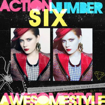 action number 6 by awesomestyle