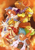 fanart Breath Of Fire 3 by Himenyuu