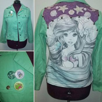 Under The Sea Ariel Jacket  by Sew-it-all