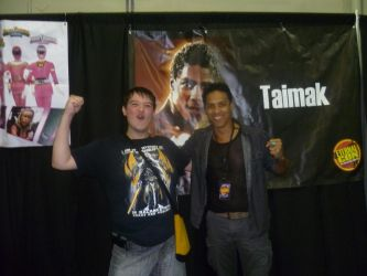 I met Taimak!! by Andruril93