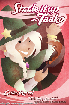Sizzle it up with Taako by SelanPike