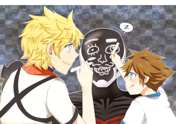 KH:BbS- Face by Sleep by meru-chan