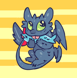 Toothless by sky665