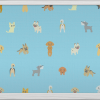 Doggies (pale Blue) by Rosemoji