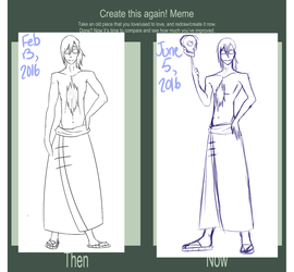 Draw this Again Meme: Oliver by Riku-D