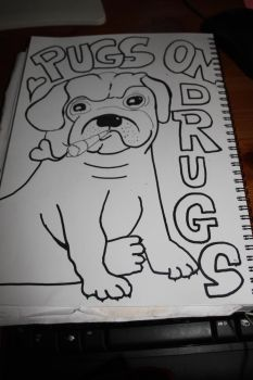 pugs and drugs by Kitty-chan-knight