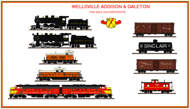Wellsville, Addison  Galeton railroad by Andrewk4