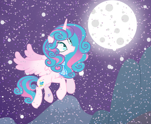 Night and snow~ by Stoned-Lemon17