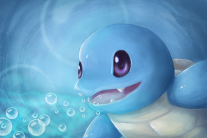 Squirtle by Cinnamon-Quails