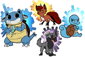 Nuzlocke Fan Arts by TalaSeba
