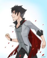 RWBY- Uncle Qrow by AltairA7Vn