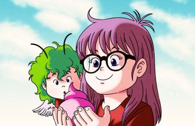Arale and Gacchan by AliceSacco