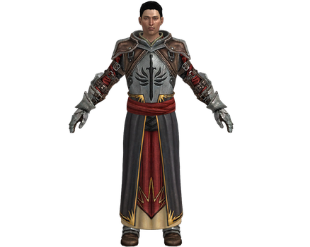 DA2 Wesley Templar Outfit XPS by Padme4000