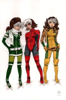 Rogue Costumes by EmilyJaneWilliams