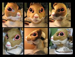 Personal mask WIP by MissRaptor