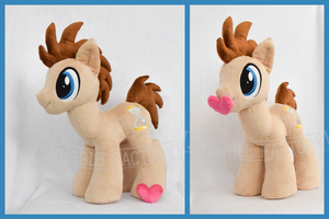 Doctor Whooves Plushie /w Magnetic Heart by SnuggleFactory