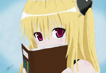 To Love Ru Yami - Book COLORED by DarylKT