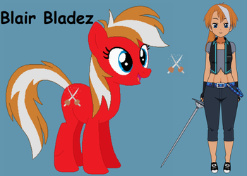 TOE Blair Bladez by roseprincessmitia