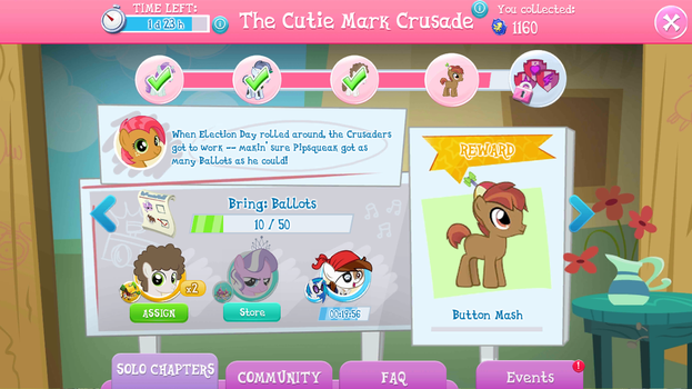 'The CM Crusade' Event Progress: 10 Ballots! by CMC--Scootaloo