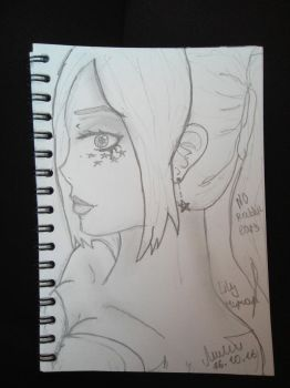 Lily Human ( No rabbit ears ) by Lily07MCtrap