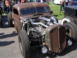 Twin Turbo Rat Rod by Jetster1