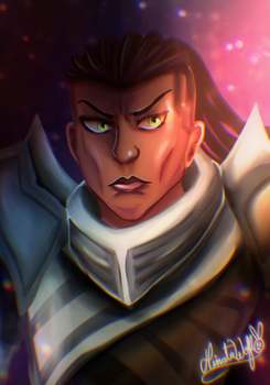 Lucian - League Of Legends by Hinata1495