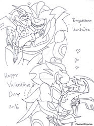 Brightshine and Hard-Wire-Valentines 2016