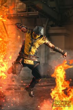 Scorpion Mortal Kombat X Cosplay 5 by ArtisansdAzure