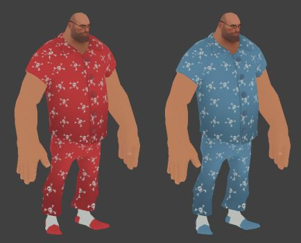 Heavy Pajamas Guy by TimeLordEnglish