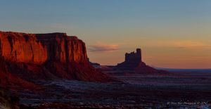 Sunrise in Monument Valley 3 by Mac-Wiz