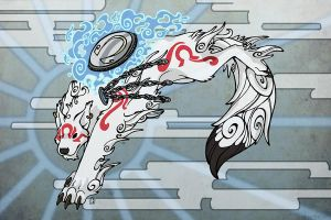 Bloodi Okami Style by BloodhoundOmega