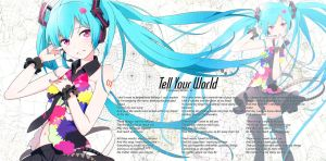 Tell your World EP Large Wallpaper by IWSFOD-D