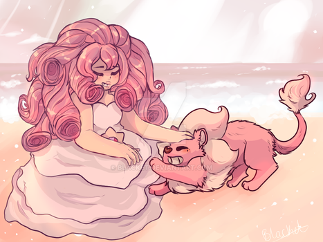rose quartz cuz why not by blacket