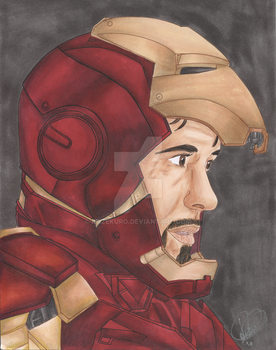 He is Iron Man