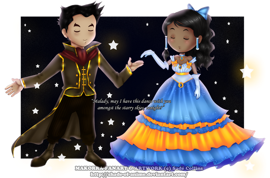 LOK~MAKORRA~Dancing With The Stars by LittleMissSquiggles