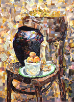 Still life of thousand pieces by Domisea