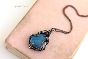 Ruby pendant by MDorothy