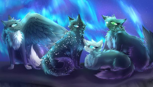 Northern Lights by Sparrowfern33