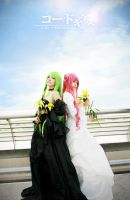 C.C and Euphemia - Code Geass by meipikachu