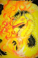 Fire Wyrm by chaosqueen122