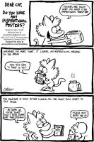 ASK A CAT: Toast by bakertoons