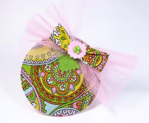 A colorful funny fascinator I just finished by Sundry-Art