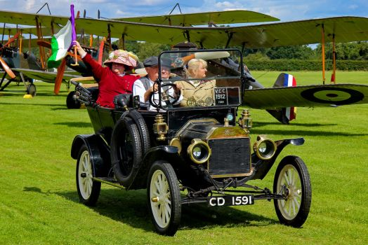 Shuttleworth Suffragette by Daniel-Wales-Images