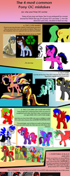 4 common problems with Pony OC's by PHDrillSergeant