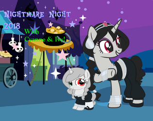 Nightmare Night 2018, with Cyanne and Ivy!!! by Obeliskgirljohanny