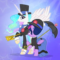 Puttin' On The Ritz by PixelKitties