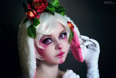 Pink Bunny by Rei-Doll