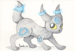 Noctali/Umbreon shiny by Chenchila