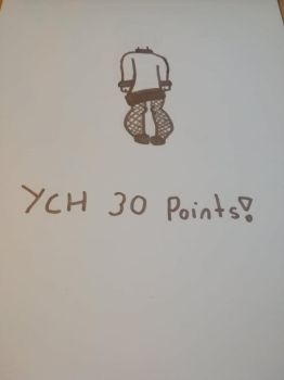 Ych 30 points open by PupperDogGirl